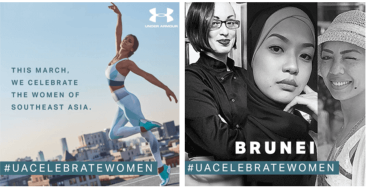Celebrating Women of South East Asia – Under Armour