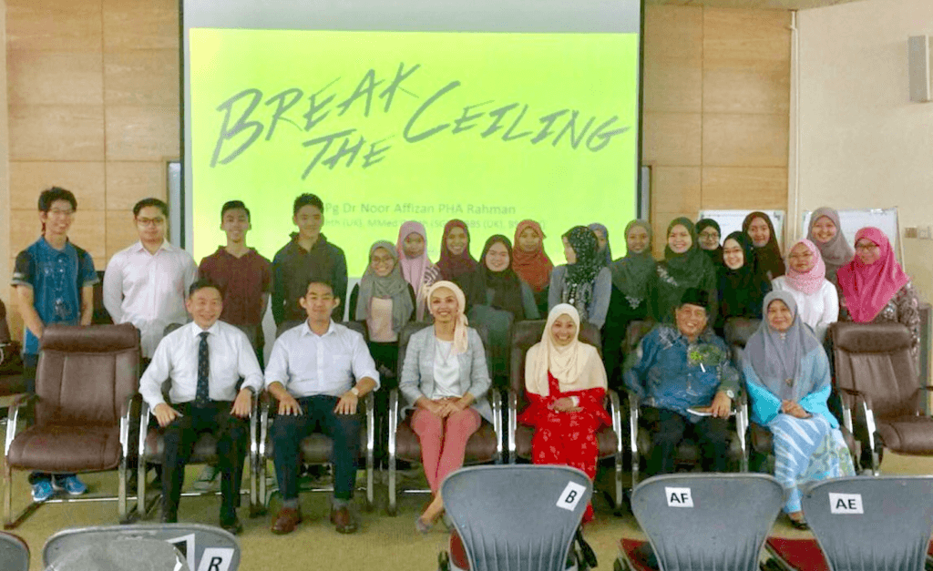 Motivational talk UBD brunei