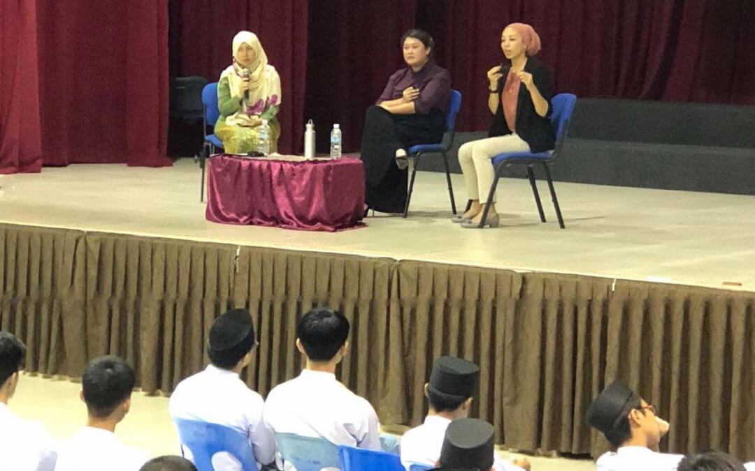 'The Next Step' – Sharing Session at Maktab Sains