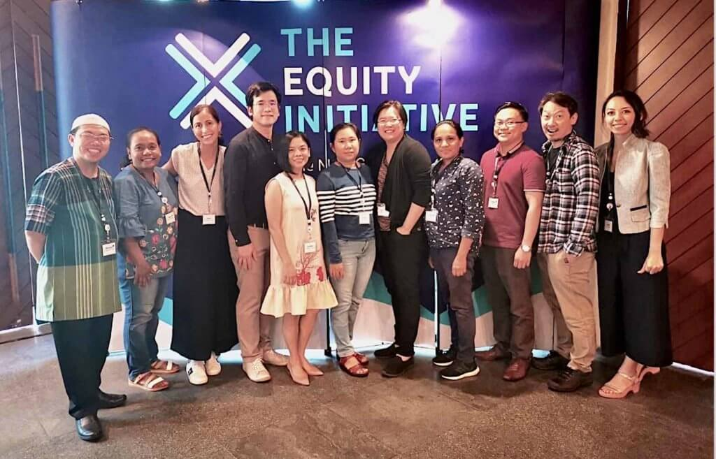 Group photo of equity initiative 2020